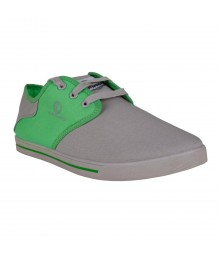 Cefiro Light Grey Green Casual Shoes Fun for Men - CCS0185